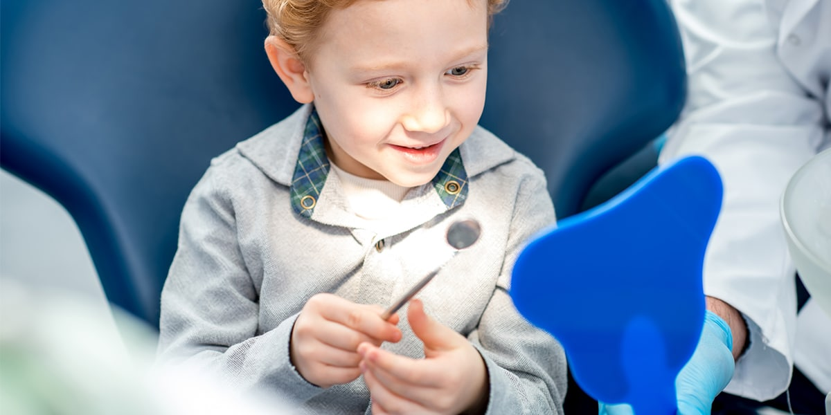 Pediatric Cosmetic Dental Services Decorative Image